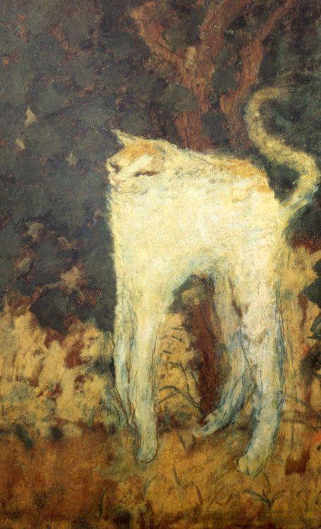 Pierre Bonnard...tall kitty