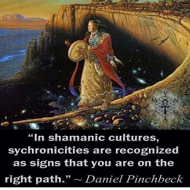 ∆ Synchronicity...I've always believed this. / I've been having lots of those lately!!!