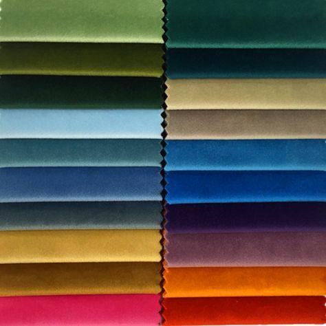 60色固体平野染め鈍いベルベット布ソファチェアホテル家の装飾張り生地140センチ幅によって売るメーター