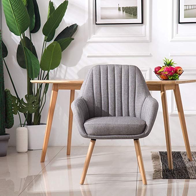 Amazon Com Homy Grigio Dining Chairs Living Room Chairs Accent
