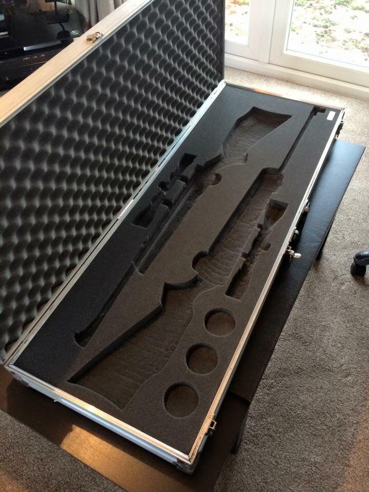 Air rifle case gun foam organisation gadgets OCD