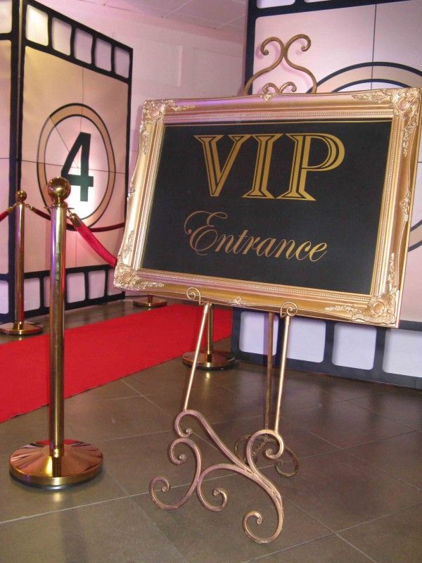 VIP Entrance Sign                                                                                                                                                                                 More