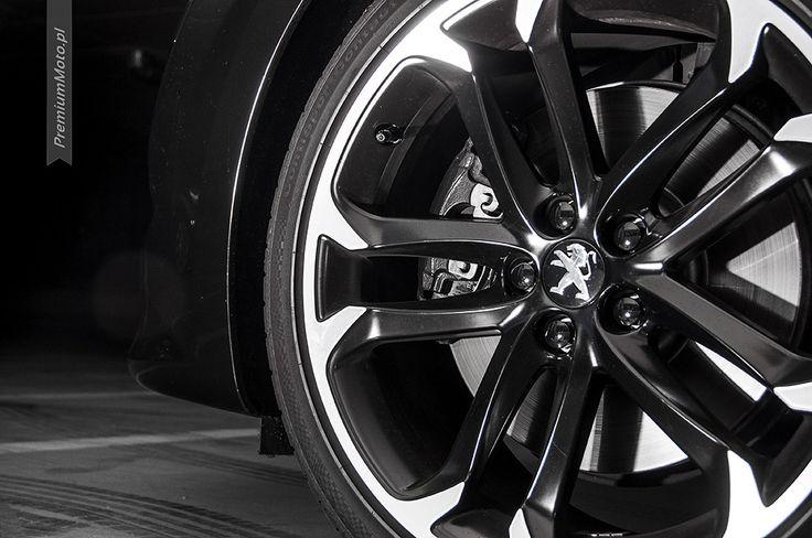 """Peugeot RCZ 18"""" wheel #peugeot #rcz #wheel more: http://premiummoto.pl/08/29/peugeot-rcz-brownstone-nasza-sesja"""
