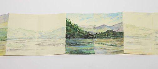 Viola Dominello: The Hawkesbury (detail) :: Wynne Prize 2010 :: Art Gallery NSW