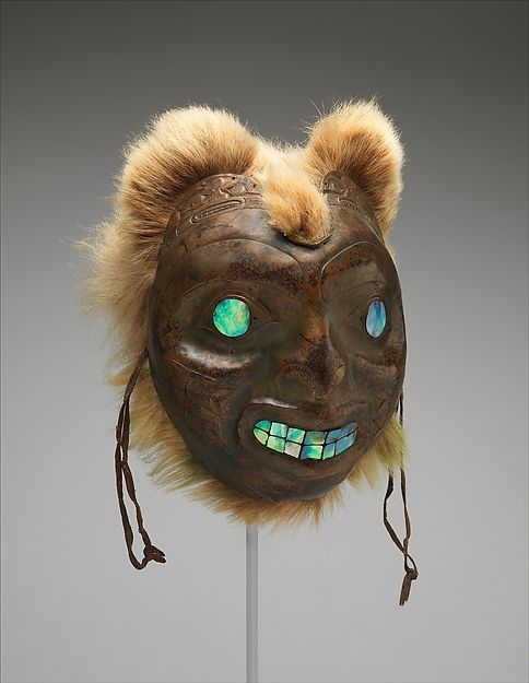 Sea Bear Mask, late 19th century. Haida. The Metropolitan Museum of Art, New York. The Michael C. Rockefeller Memorial Collection, Bequest of Nelson A. Rockefeller, 1979 (1979.206.830) #halloween #costume