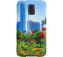 Red Roses in the Botanical Gardens - Melbourne, Victoria Samsung Galaxy Case/Skin