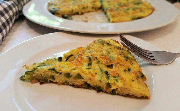 Frittata di zucchine | zucchini omelette recipe