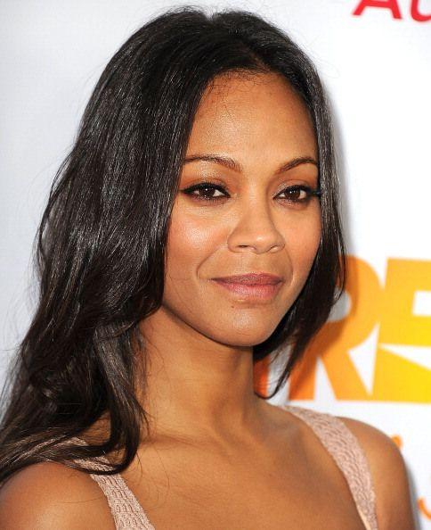 Multiracial actress Zo...