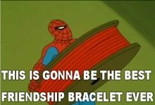 The Retro Spiderman memes are my favorite. I die every time! <3 <-- YESSS.
