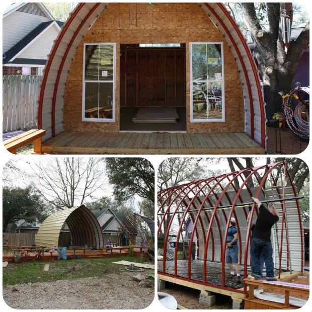 Build Your Very Own Arched Cabin In A Weekend For Under $5000,diy,kits ...