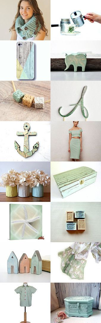 Mint by Natasha on Etsy--Pinned with TreasuryPin.com