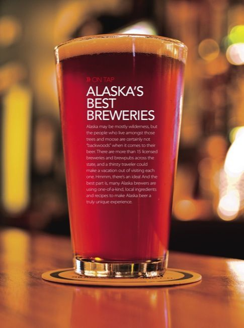 Alaska's BEST Breweries - I've been to (and gotten beer glasses at) quite a few, if not most.