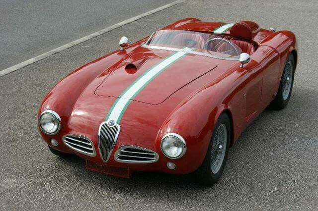 Alfa Romeo 1900 Barchetta - 1953 Maintenance/restoration of old/vintage vehicles: the material for new cogs/casters/gears/pads could be cast polyamide which I (Cast polyamide) can produce. My contact: tatjana.alic@windowslive.com