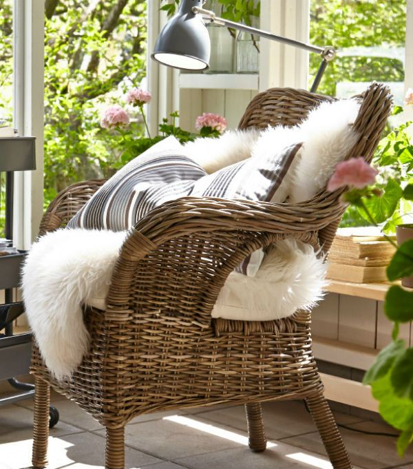 This mother's day, give mom a relaxing place to call her own. The BYHOLMA chair provides beautiful comfort in any room of your home.