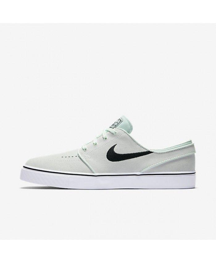 Nike Zoom Stefan Janoski CNVS, Chaussures de Skateboard Homme, Noir (Blackanthracitegum Med Brown 020), 45 EU