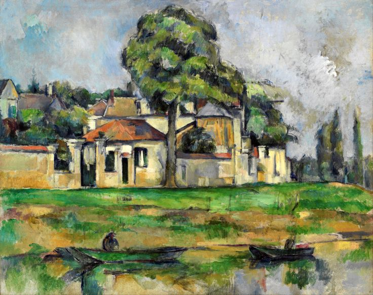 Paul Cézanne (1839-1906) Banks of the Marne c. 1888. Oil on canvas. 65 x 81,3 cm. Art Gallery of New South Wales, Sydney. 320.2008.