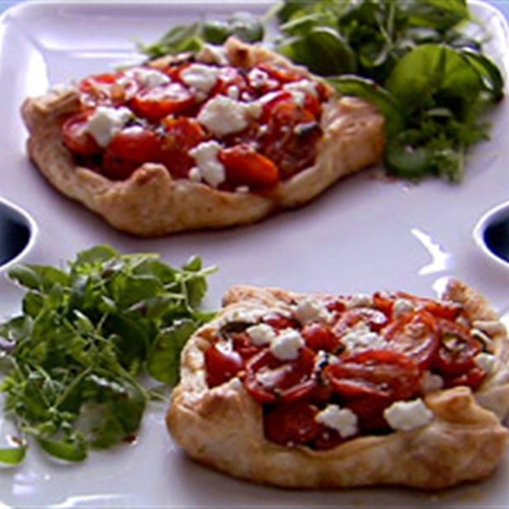 Try this Tomato Basil Tarts recipe by Chef Anna Olson. This recipe is from the show Fresh.