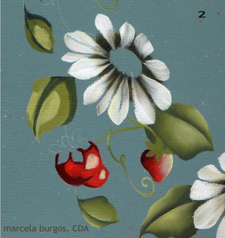 17 mejores ideas sobre como pintar flores en pinterest - Como pintar al oleo paso a paso ...