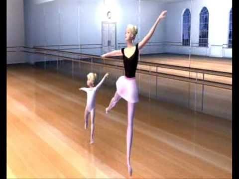 Barbie en el Cascanueces. - YouTube. Selección de la película, donde las protagonistas bailan ballet