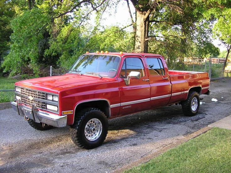 1987 Chevy Crew Cab 4X4 For Sale - 2019-2020 New Upcoming Cars by