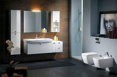 28 besten badezimmer im industrial look bilder auf pinterest badezimmer sp lbecken und - Fliesen rostoptik ...