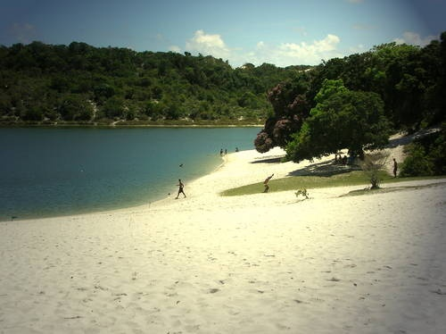 Would love to be here right now. It is Areia Branca in Timor Leste.