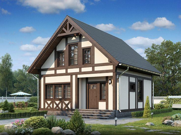 фахверковые дома проекты