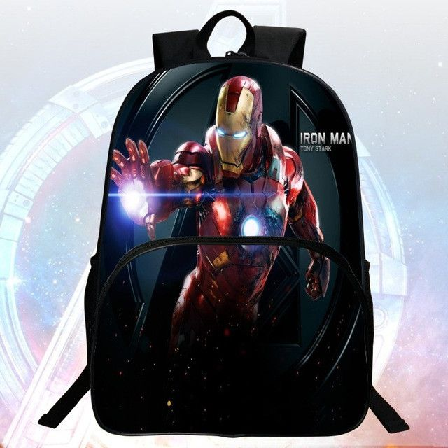 2016 Hot Sale 16-inch Printing Hero Hawkeye Schoolbag Avengers Kid Bags Children Backpack Boy School Backpacks Students Mochila
