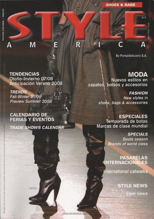 STYLE AMERICA fashion cover DIESEL