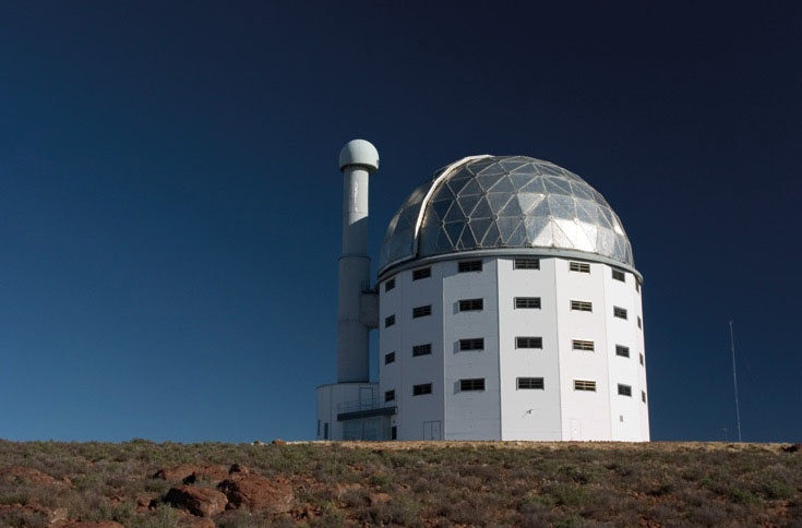 SALT Telescope, Sutherland, South Africa.  Travel to Africa with Nomad Adventure Tours on your next holiday.