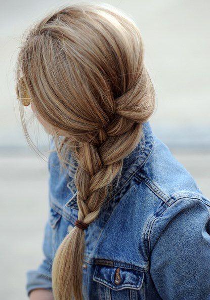 Sunday hair <3 #HairColor #Braid #Highlights