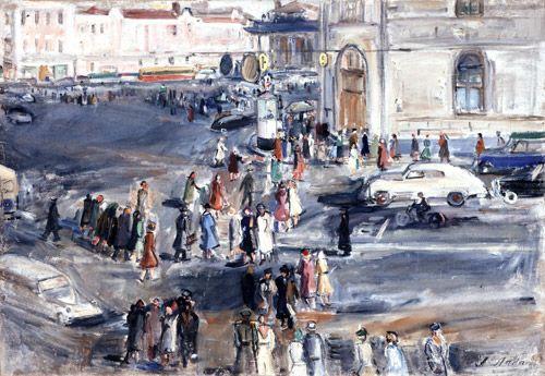 Александр Лабас. Москва. 1960-е.