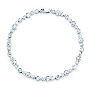 Bracelet de diamants Tiffany Enchant en platine et diamants.