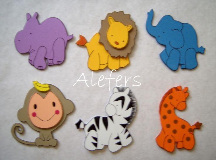 17 Best ideas about Animales En Foami on Pinterest | Safari en la ...