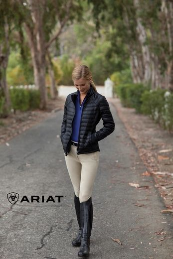 Ariat Bolton Primaloft Jacket. The perfect length for riding.