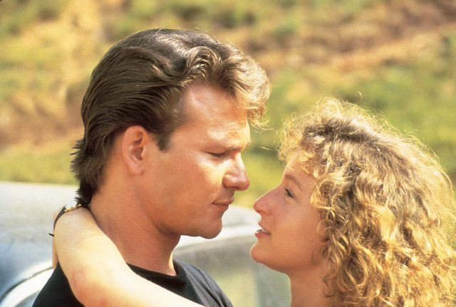 Still of Jennifer Grey and Patrick Swayze in Dirty Dancing
