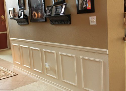 how to the paneled wall decorchick! - 500×360