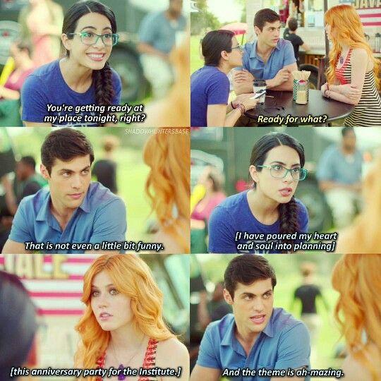 Season 1 Episode 10: Izzy, Alec, Clary