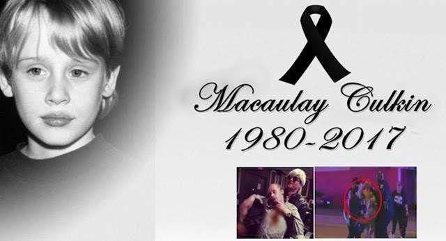 Macaulay Culkin muere tras pelea con un Amigo en estado de Ebriedad. ¡Mi pobre angelito!