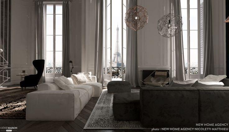 Best 25 Rideaux Salon Moderne Ideas On Pinterest Rideaux De Salon Modernes Salon Rideaux And