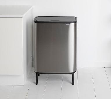 Brabantia Bo Touch Trash Can Large In 2020 Trash Can Kitchen Compost Bin Brabantia