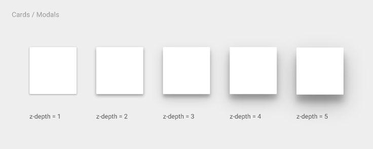 Freebie: Google Material Design Shadow Helper — Medium