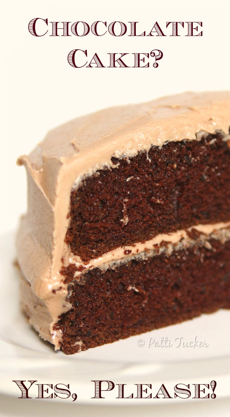 Best, Yes, BEST, Chocolate Cake You'll Ever Eat