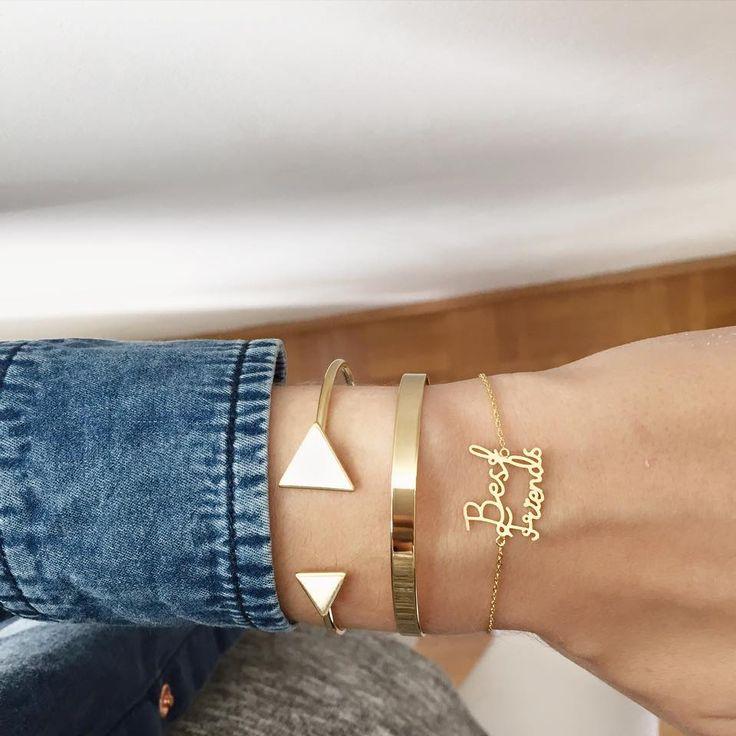 Bracelets à retrouver sur www.joliedemoiselle.fr