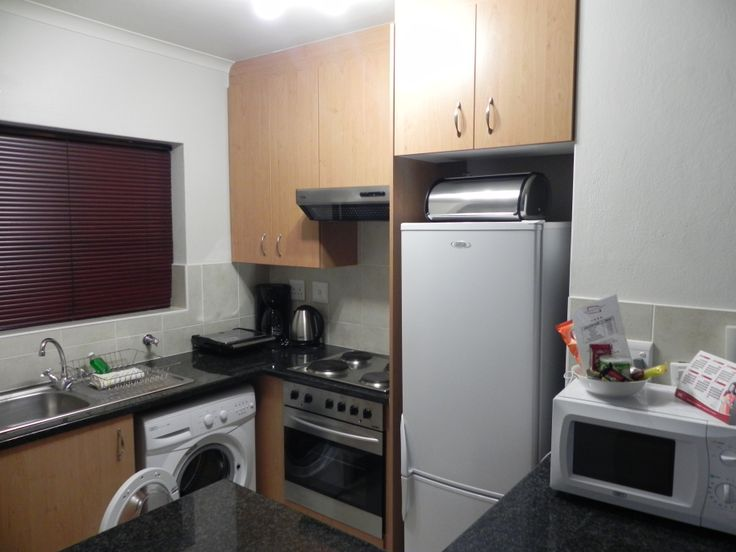 Our kitchens include the following:  •Washing machine and tumble dryer •Fridge/ freezer, microwave and normal oven •Coffee perculator and toaster •Place setting for two, including crockery, cutlery, glasses and utensils and much more...