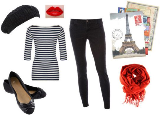 Halloween costumes from things you already have in your closet --Parisian