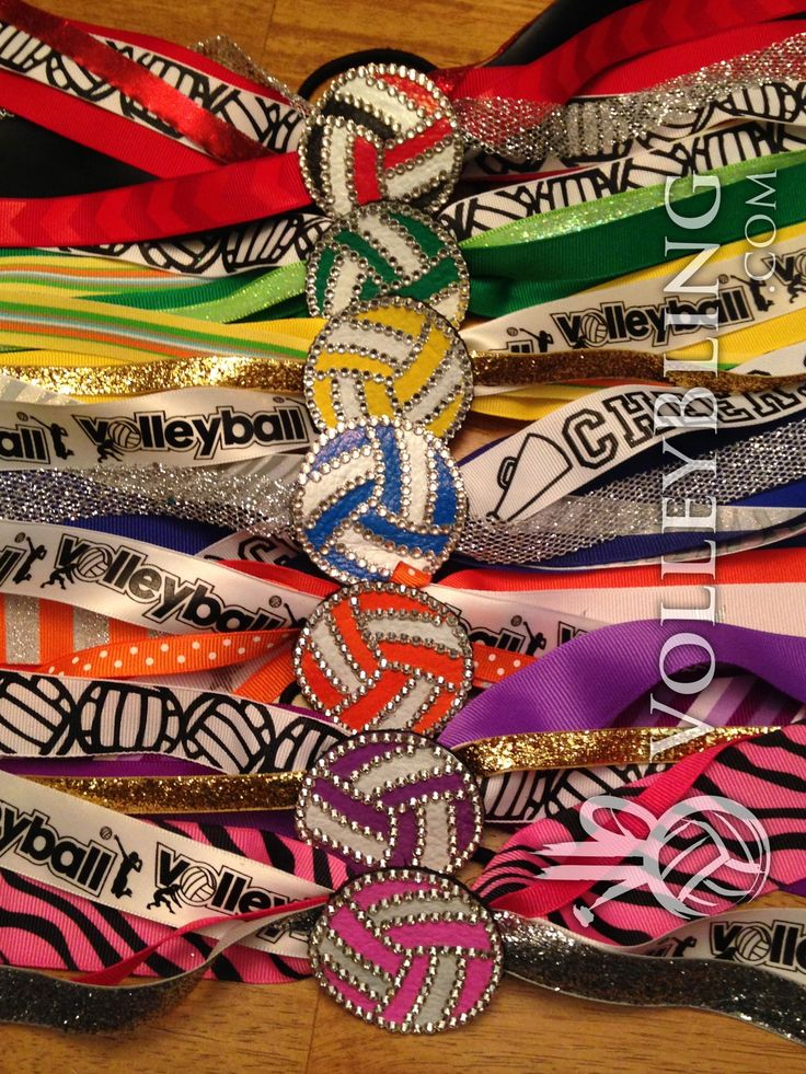 One makes a great gift, twelve make a great team. Available at VolleyBling.com $14.95 http://www.etsy.com/listing/161251739/volleyball-bling-hair-accessory-leather?ref=shop_home_active