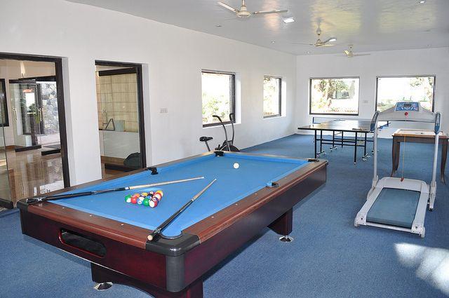 Enjoy Pool game in Corbett Leela Vilas.