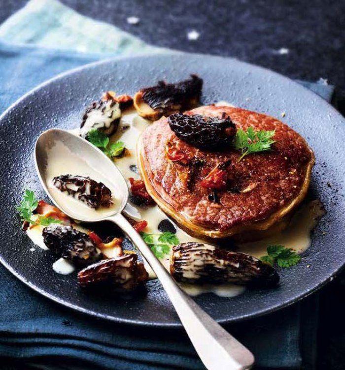 Tournedos aux morilles sauce au foie gras