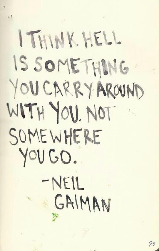 Neil Gaiman, from Seasons of Mists